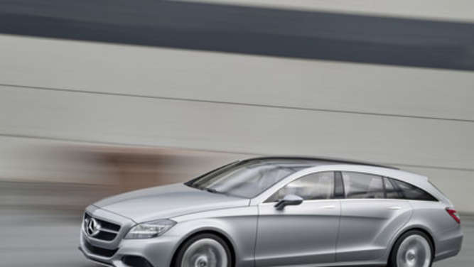 Studie Mercedes in Shooting Break Coupé CLS