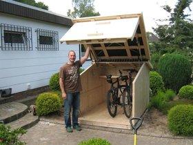 d sseldorf ein heim f r fahrr der zweiradgarage haus garten. Black Bedroom Furniture Sets. Home Design Ideas