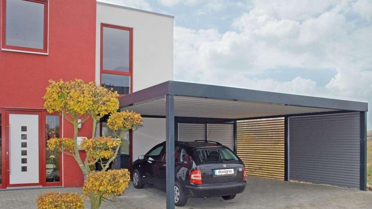 alles was recht ist der carport auf dem privatgrundst ck wohnen. Black Bedroom Furniture Sets. Home Design Ideas