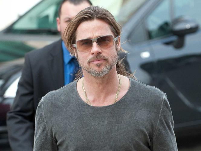 Brad Pitt bei der documenta in Kassel