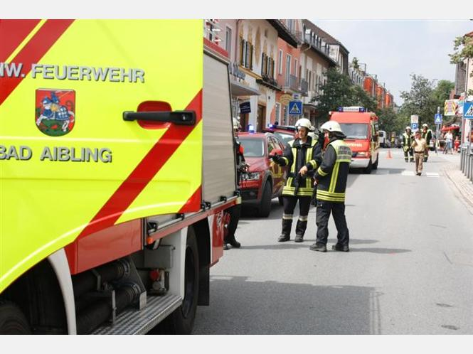 Wohnhausbrand in Bad Aibling