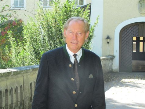 Dekoartikel - Blechschild Werbeschild Schwarzer Krauser