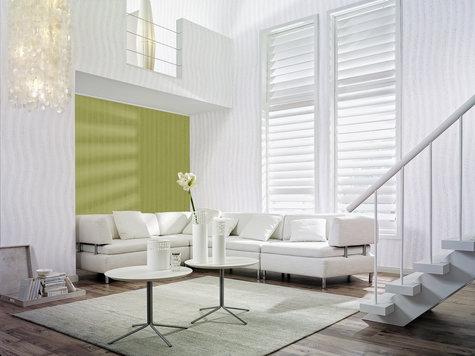k rniger klassiker zieht alle blicke auf sich raufaser im wellen oder streifenlook ausbau. Black Bedroom Furniture Sets. Home Design Ideas