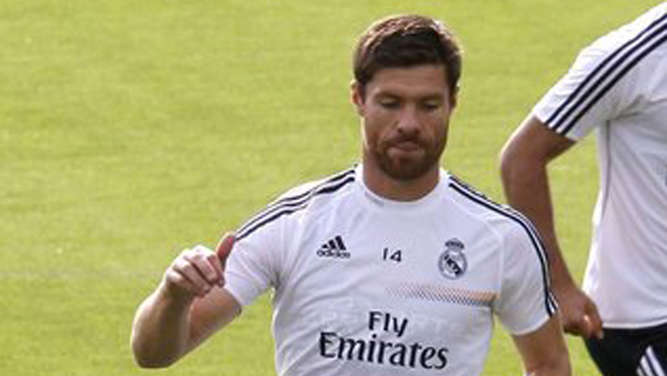 Xavi Alonso, Real Madrid