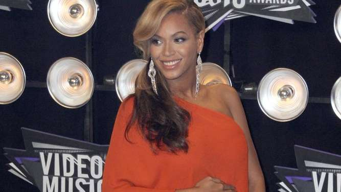 Die schwangere Beyoncé bei den MTV Video Music Awards 2011. Foto: Paul Buck