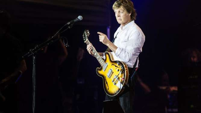 Paul McCartney mag die Queen. Foto: Mathias Loevgreen Bojesen