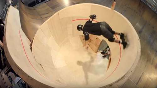 Video des Tages: Ein Looping auf dem Skateboard