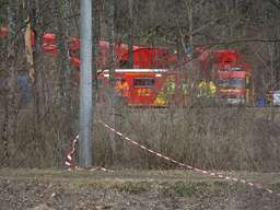 Unfallstelle in Bad Aibling am Donnerstag