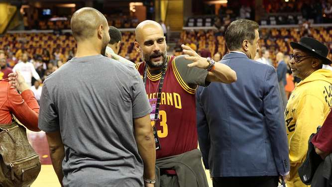 NBA Finals 2016 Pep Guardiola