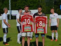 Testspiel in Eiselfing: TSV 1860 Rosenheim - FC Bayern München II