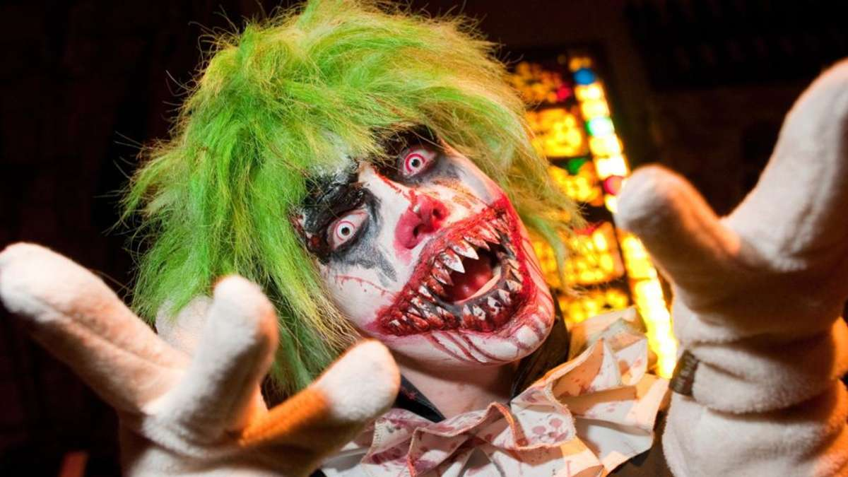 In wesel wurde ein unheimlicher grusel clown gesichtet deutschland - Clown schminken bilder ...