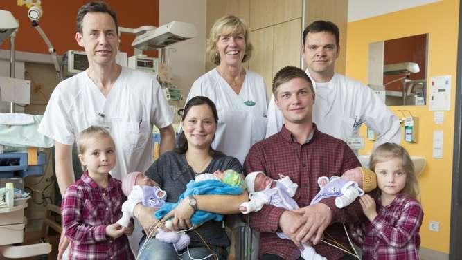 Sachsen - Fruchtbare Familie: Auf Zwillinge folgten Vierlinge