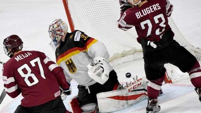 Eishockey-WM Deutschland- Lettland