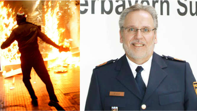 Angriffe auf Polizisten in Oberbayern: Polizei nach Brandanschlag besorgt