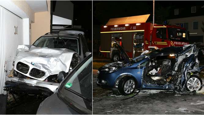 Zwei Menschen sterben bei Autounfall
