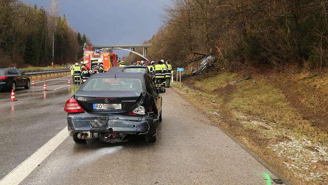 Münchner übersieht Münchner: A95 bei Penzberg für 45 Minuten komplett gesperrt