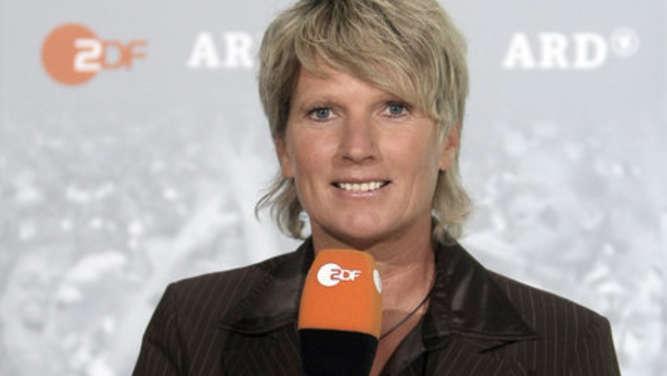 Claudia Neumann kommentiert Champions-League-Spiel