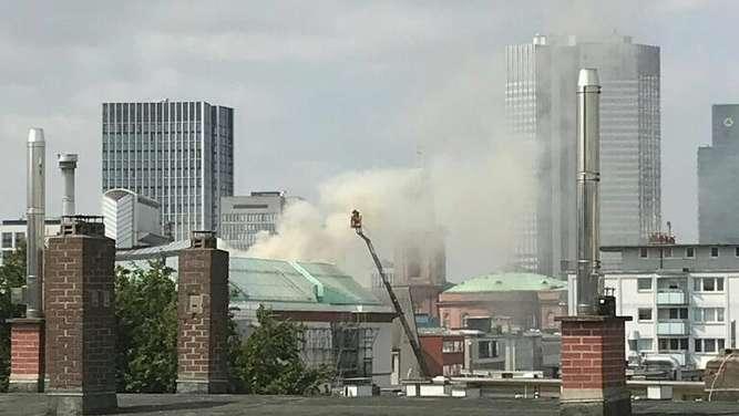 Brand im Frankfurter Museum für Moderne Kunst - Kultur