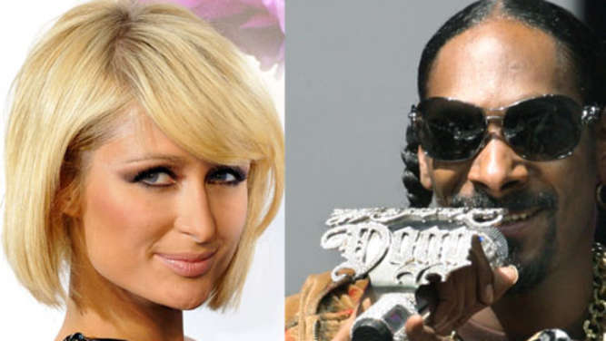 Paris Hilton (28, links) und Snoop Dogg (37).