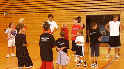Basketball-Camp für Kids