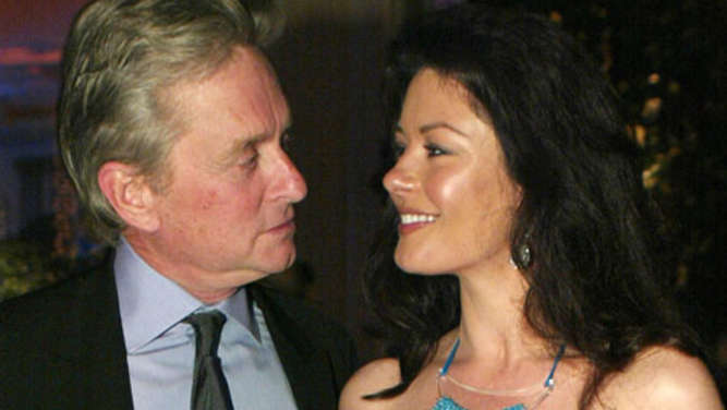 Michael Douglas mit Catherine Zeta-Jones
