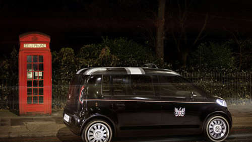Very British - VW präsentiert London Taxi