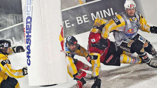 Kanadischer Jubel bei Red Bull Crashed Ice