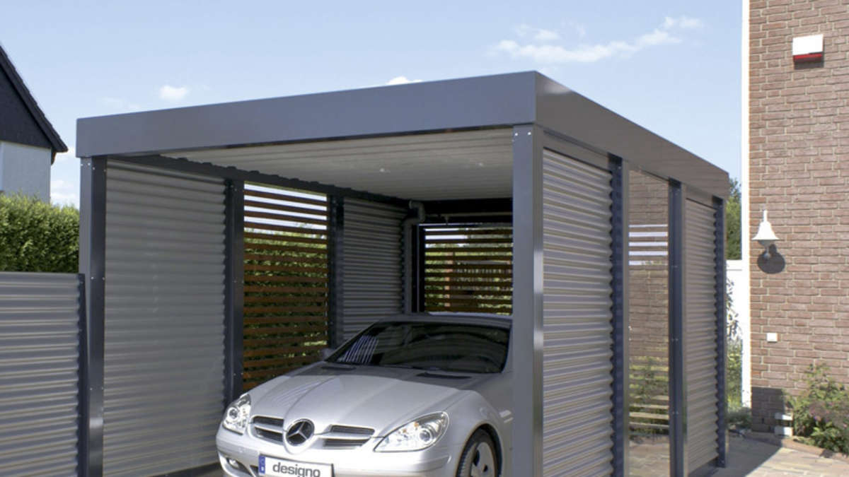 carport ist vielseitig einsetzbar wohnen. Black Bedroom Furniture Sets. Home Design Ideas