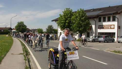 B15: Fahrrad-Demonstration
