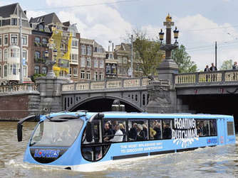 Floating Dutchman Amsterdam Bus