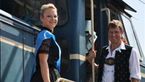 Die Miss im Wiesn-Express