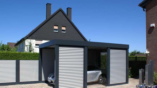 alles was recht ist der carport auf dem privatgrundst ck wohnen. Black Bedroom Furniture Sets. Home Design Ideas