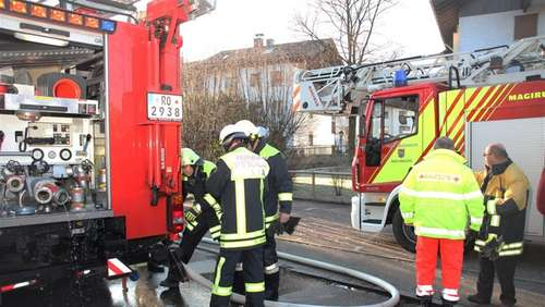 Trocknerbrand in Bad Aibling