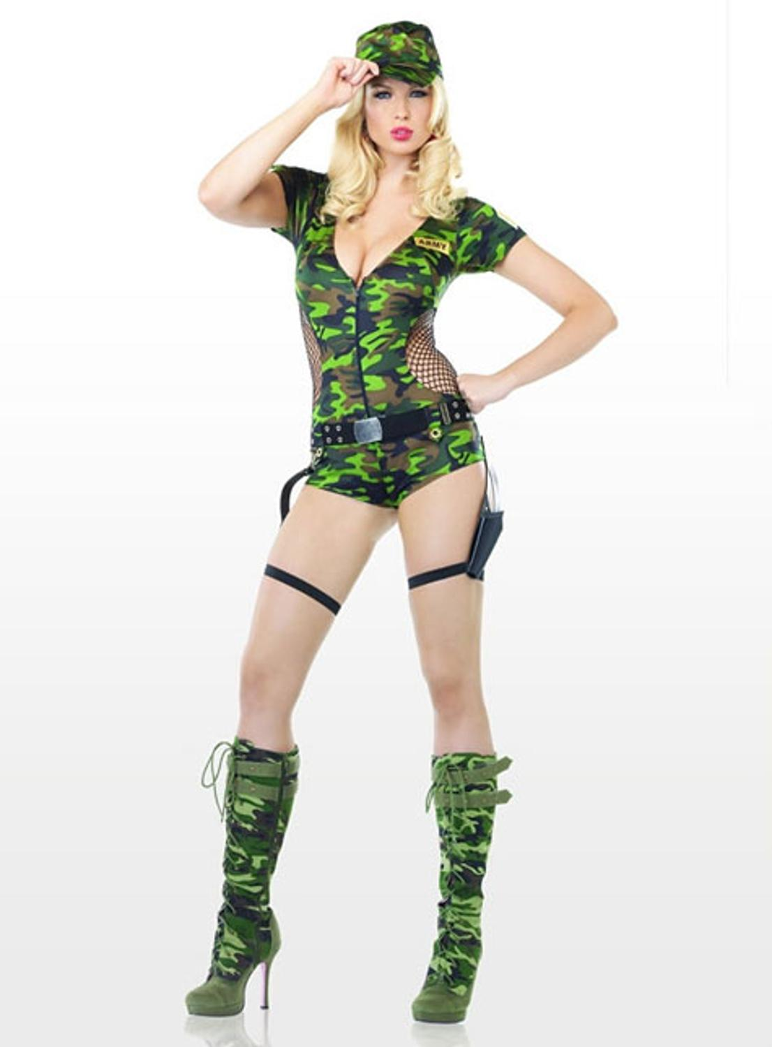 Army costumes camo soldier costumes