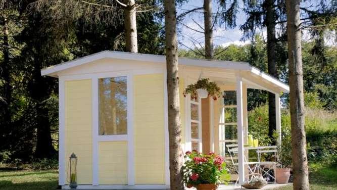 Skandinavische Gartenhäuser design gartenhaus für gartenutensilien und möbel garten