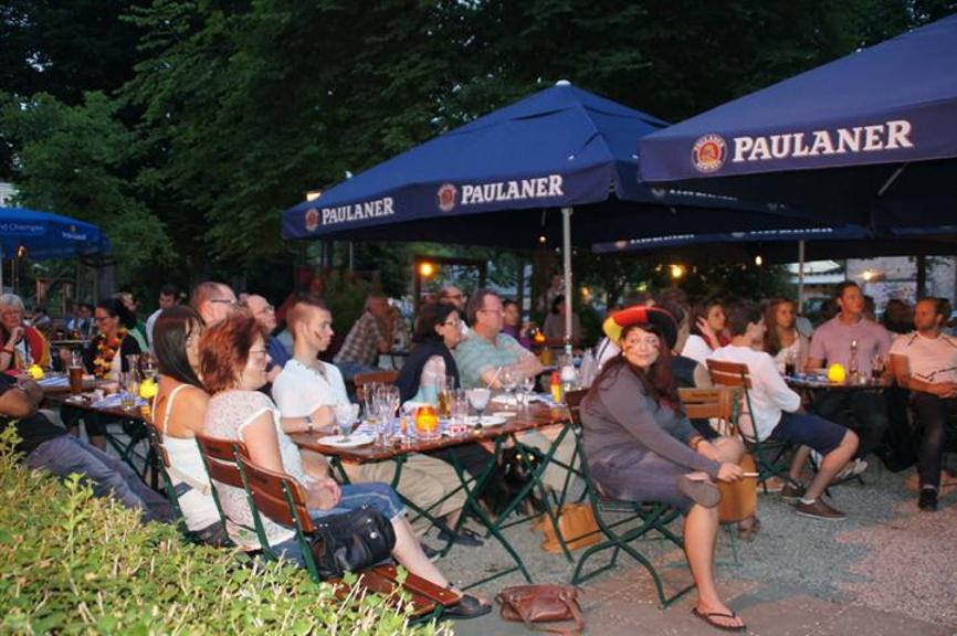 Public Viewing in Wasserburg