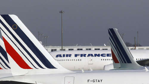 Air-France-Maschine muss notlanden