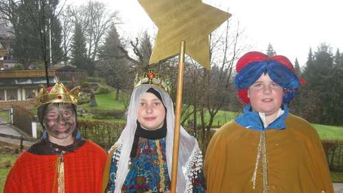 Sternsinger in Wildenwart