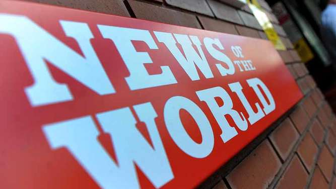 "Die ""News of the World"" hatte Promis belauscht"