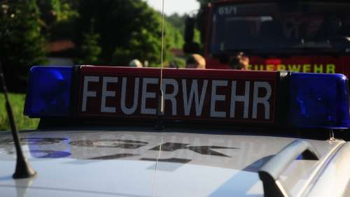 Feueralarm in Stocka
