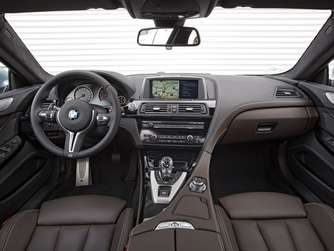 BMW M6 Gran Coupé Cockpit