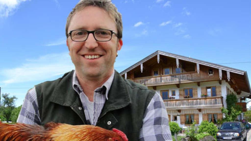 Biobauer Franz aus dem Achental ist bei der RTL-Sendung