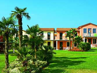 Das Sunshine Kids Resort Gasparina Village in Peschiera am Gardasee.