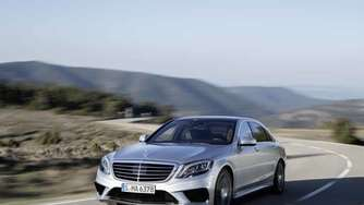Luxus-Power: Mercedes S63 AMG mit 585 PS