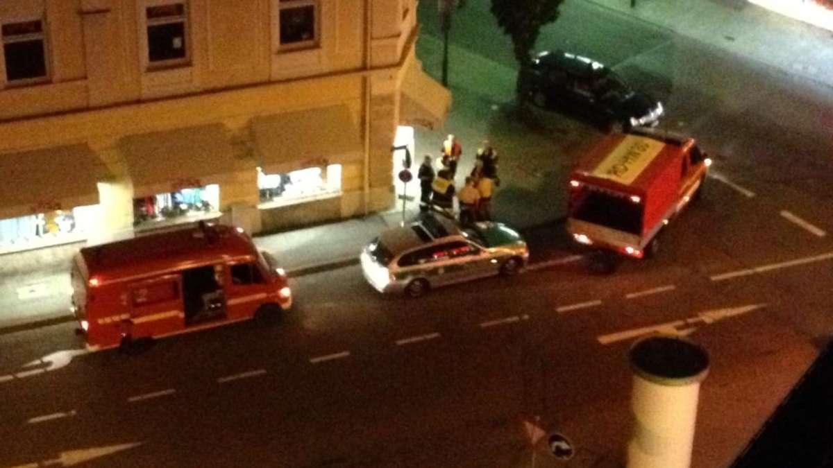 cf43c7dcf5137c Polizei und Feuerwehreinsatz bei Titus in Rosenheim