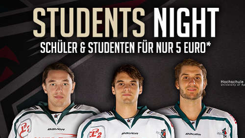 """Students Night"" gegen Dresden"