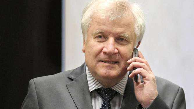 Horst Seehofer Handy