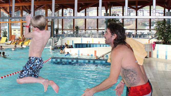 Thomas Huber in der Watzmann Therme