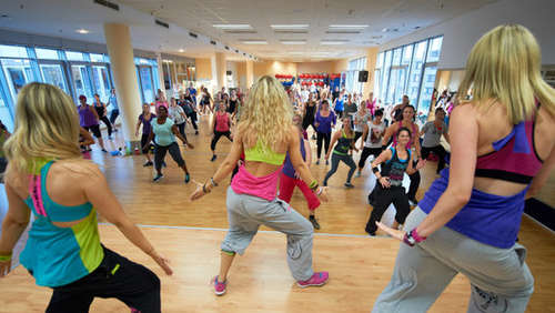 Zumba-Party immer wieder montags