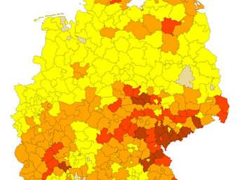 Radon Karte Deutschland.Radon Krebsgefahr Aus Dem Boden Südost Oberbayern Stark Betroffen